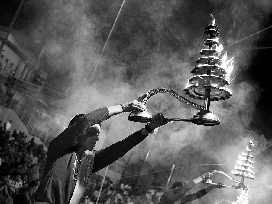 Ganga Photograph - Mother Ganga by Nina Papiorek