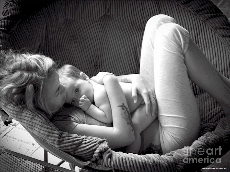 Mother Photograph - Mothers Love by Laurence Oliver