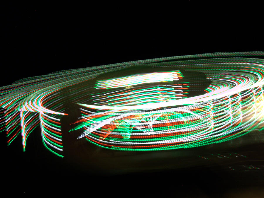 Light Photograph - Motion by Jessica Duede
