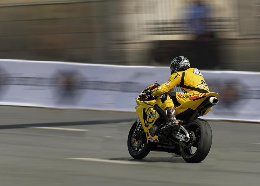 Two Wheelers Photograph - Motorbike by Igor Sinitsyn