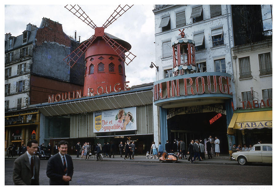 Moulin Rouge Photograph by Theo Bethel