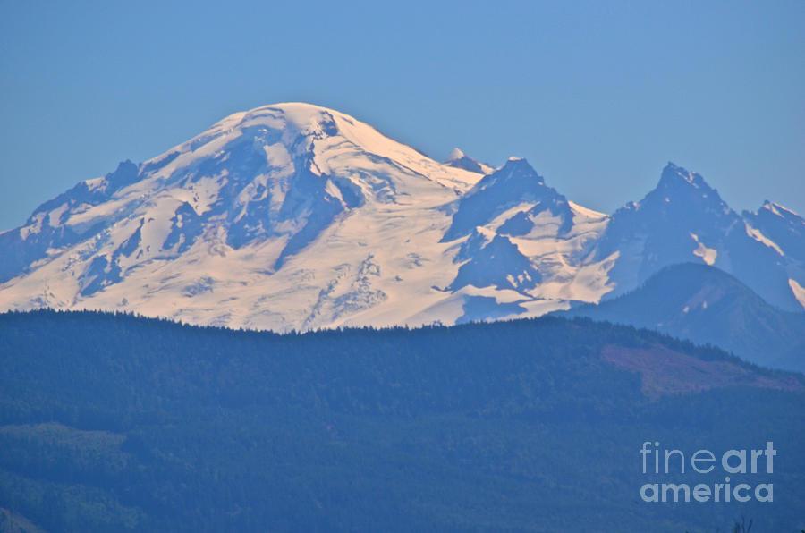 Mount Baker Photograph - Mount Baker 4 by James E Weaver