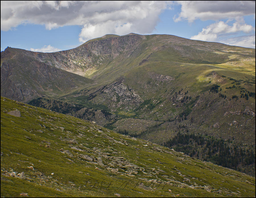 Mountains Photograph - Mount Evans Hours Before Tornado Touched Down View 3 by DankLilli Art And Photography