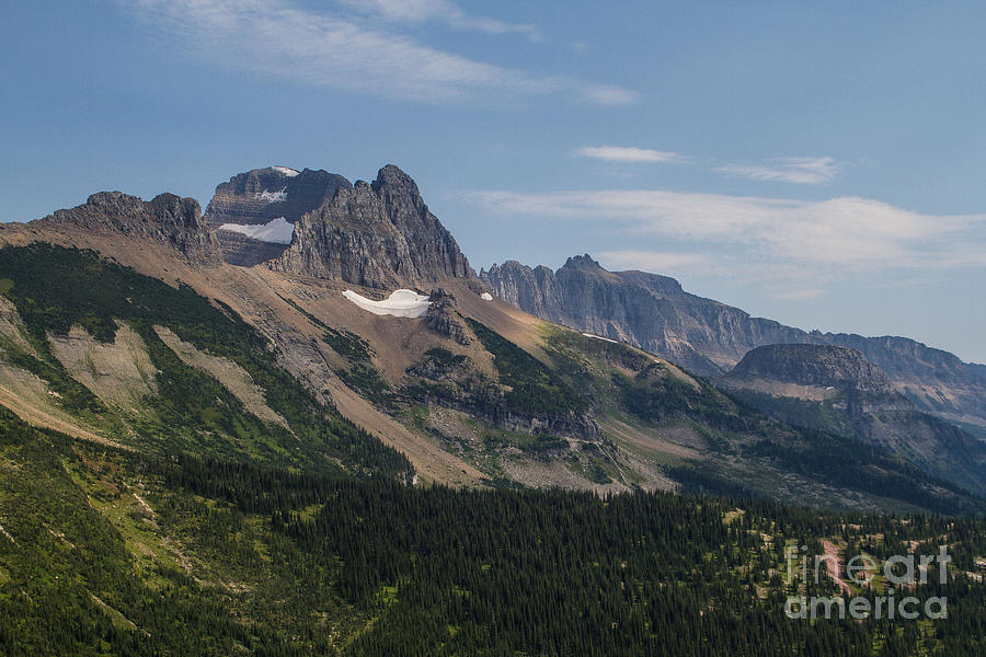 Mount Gould o Garden Wall to Haystack Butte by Katie LaSalle-Lowery