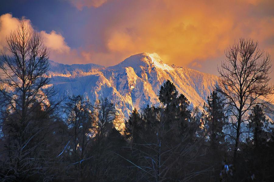 Mount Si Photograph - Mount Si Winter Wonder by Scott Massey