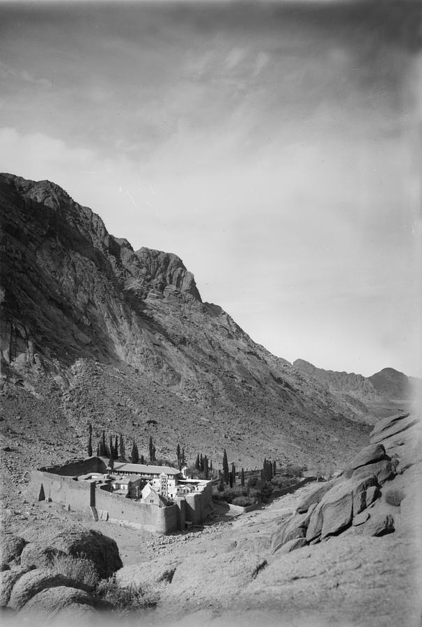 1920s Photograph - Mount Sinai, To Sinai Via The Red Sea by Everett