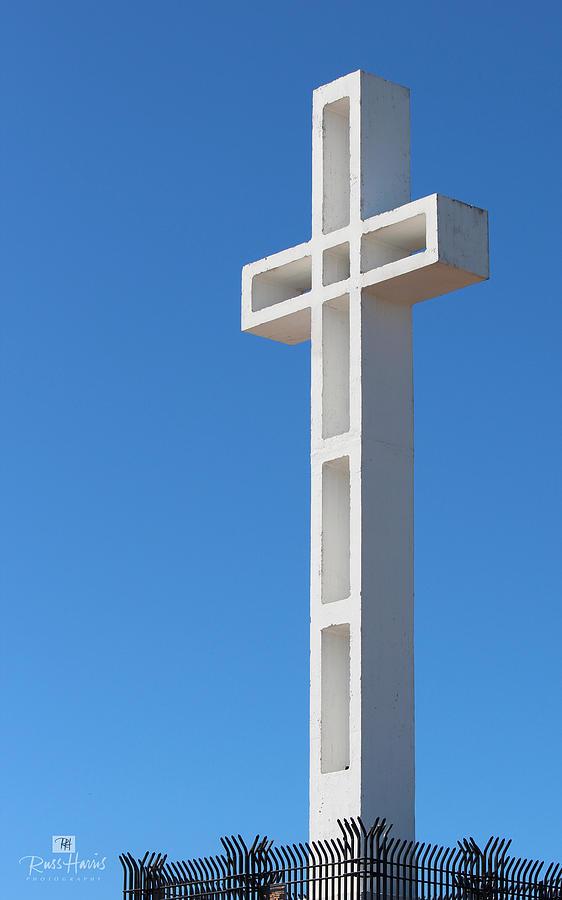 Mount Soledad Cross Photograph - Mount Soledad Cross La Jolla by Russ Harris