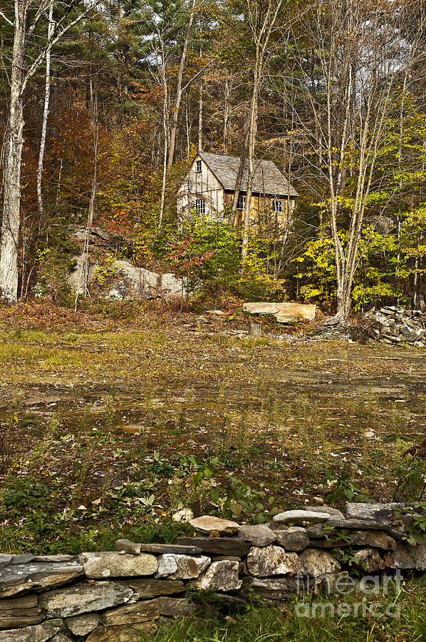Vermont Photograph - Mountain Cabin by John Greim