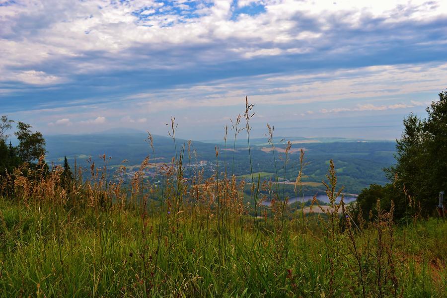 Mountain Photograph - Mountain Fall Quebec by Josee Dube