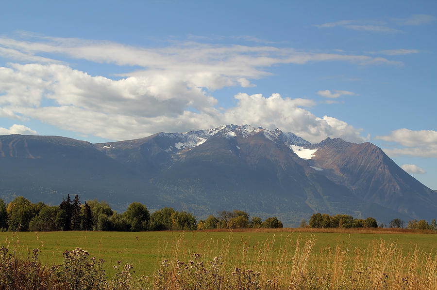 Mountains Photograph - Mountain Field by Kim French