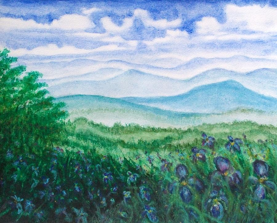 Mountains Painting - Mountain Glory by Jeanette Stewart