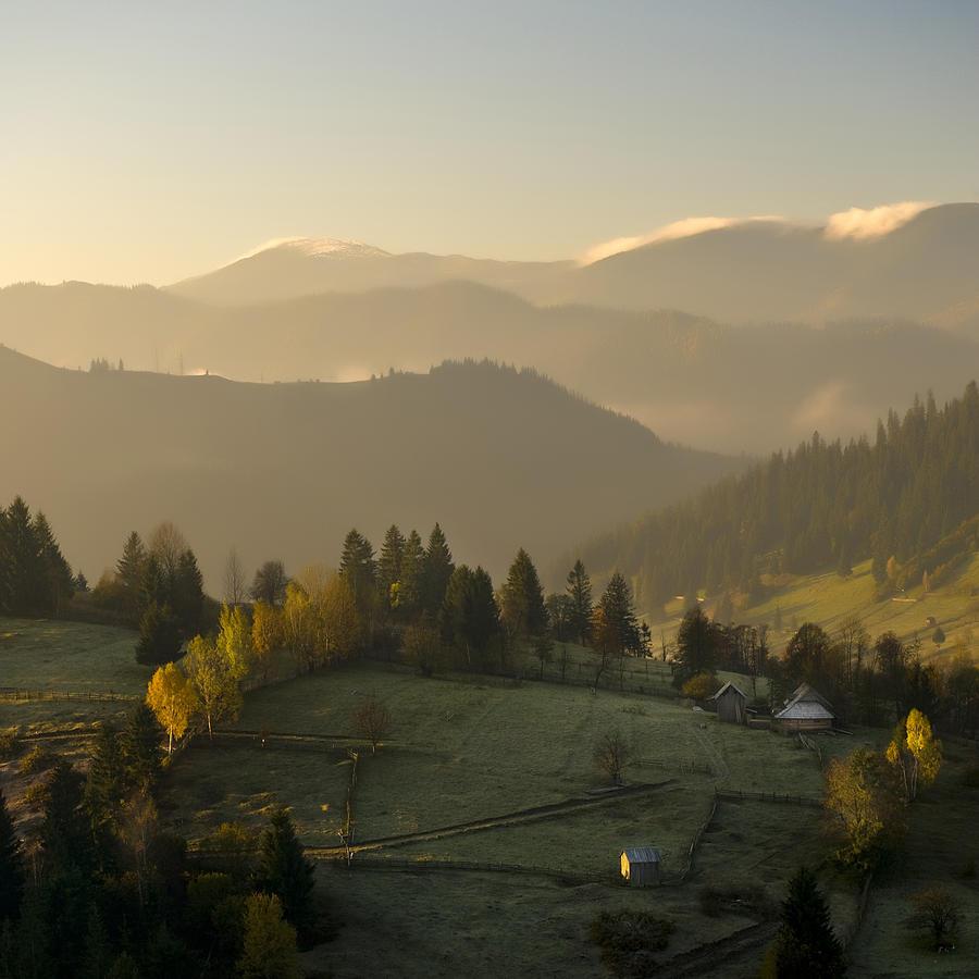 Mountain Photograph - Mountain Landscape by Ovidiu Bastea