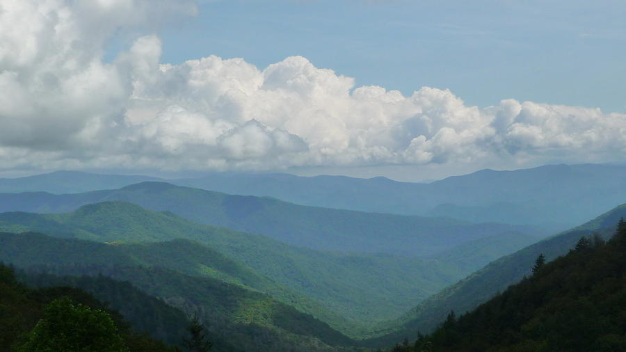 Clouds Photograph - Mountain Magnificence by Michael Carrothers