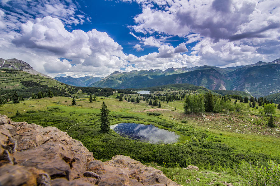Colorado Photograph - Mountain Pass by Chris Multop