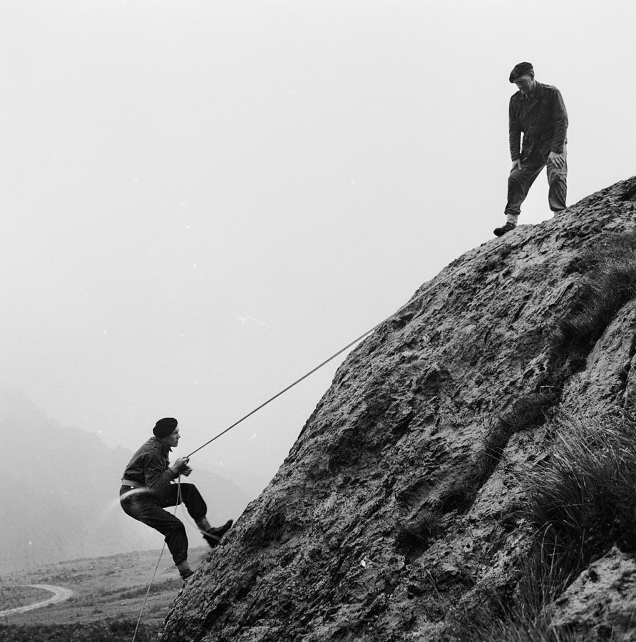 Adults Only Photograph - Mountain Police by John Drysdale