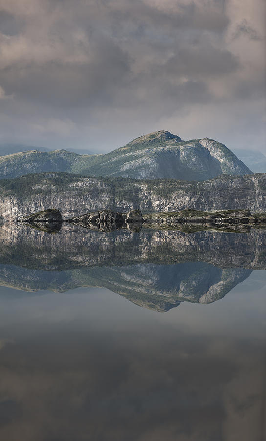Landscape Photograph - Mountain Reflection by Andy Astbury
