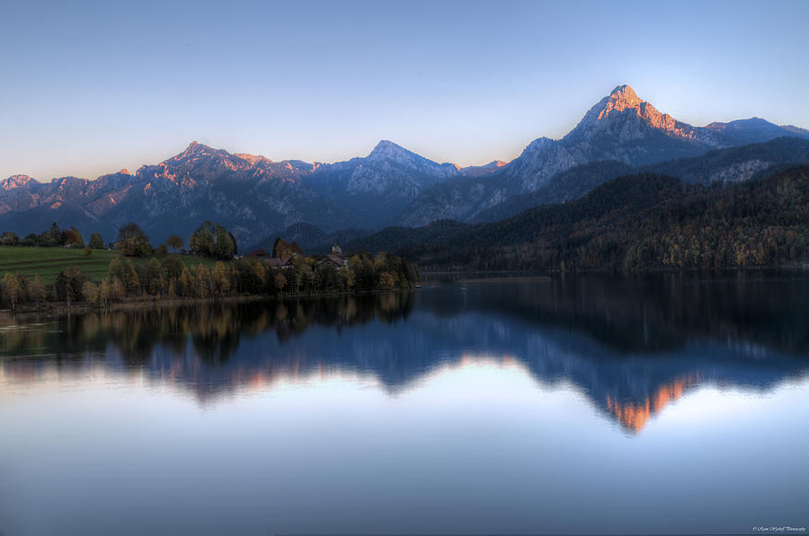 Mountains Photograph - Mountain Reflections by Ryan Wyckoff