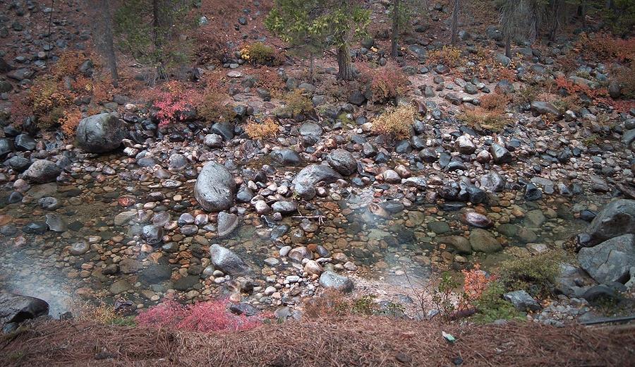 Nature Photograph - Mountain River by Naxart Studio