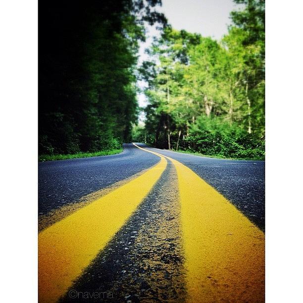 Instaaaaah Photograph - Mountain Road by Natasha Marco