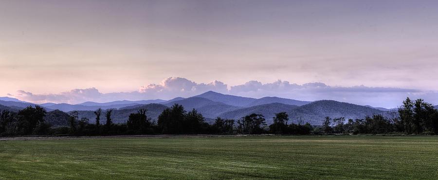 Mountain Sunset North Carolina Landscape Photograph By Rob Travis