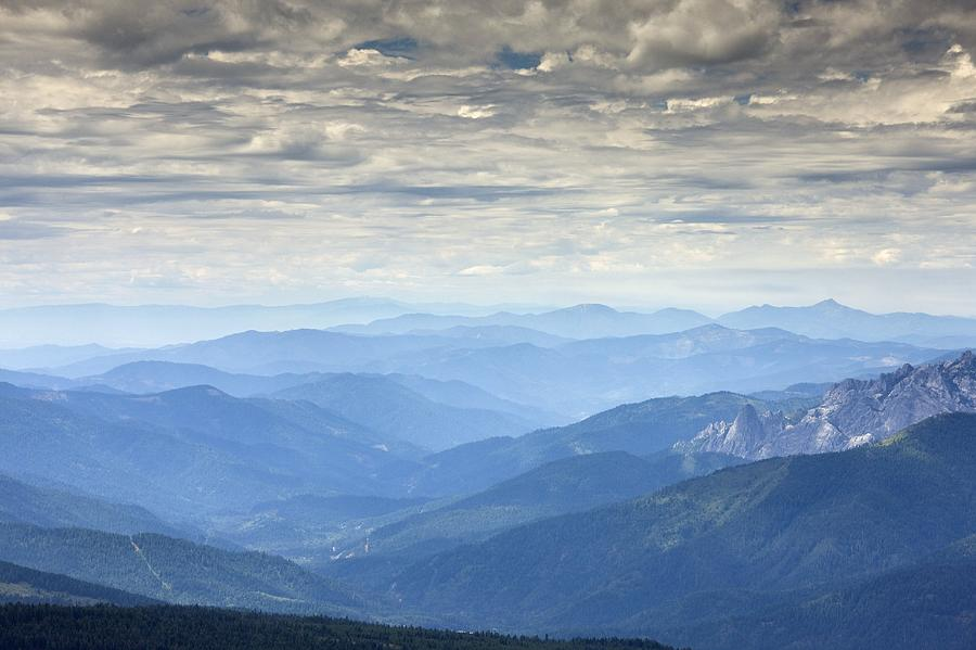 North America Photograph - Mountain View, Usa by Bob Gibbons