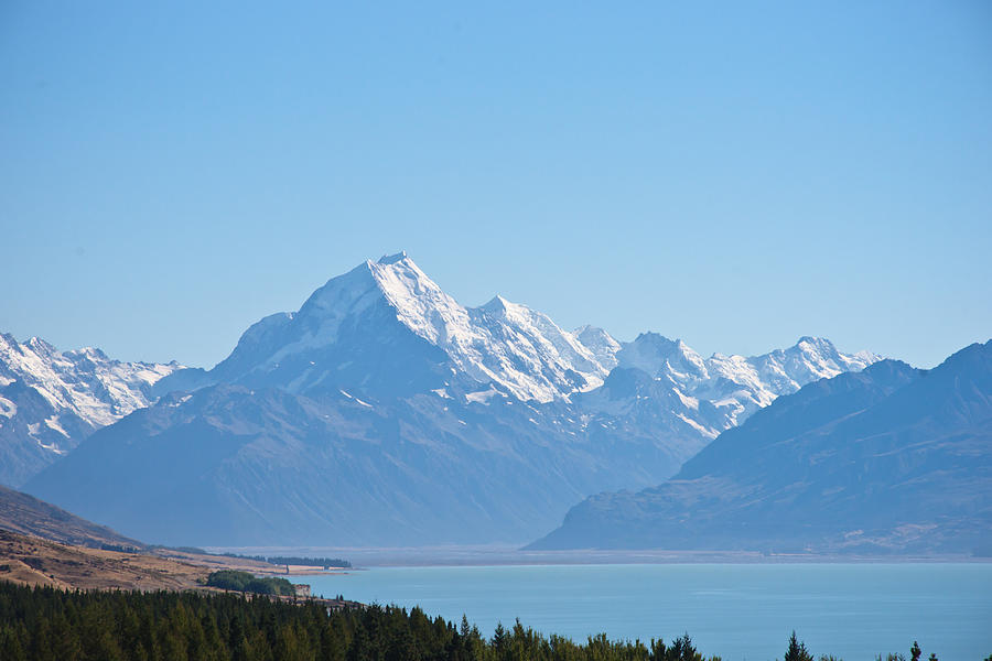 Mountain Photograph - Mountain With Lake by Graeme Knox