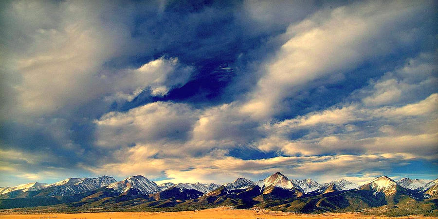 Mountains Photograph - Mountain Wonder.. by Al  Swasey