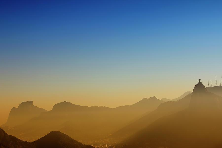 Horizontal Photograph - Mountains Of Rio De Janeiro by Antonello
