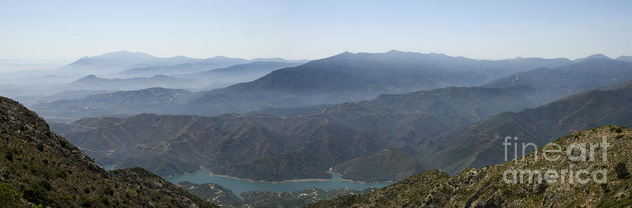 Mediterranean Photograph - Mountains Of Spain by Perry Van Munster