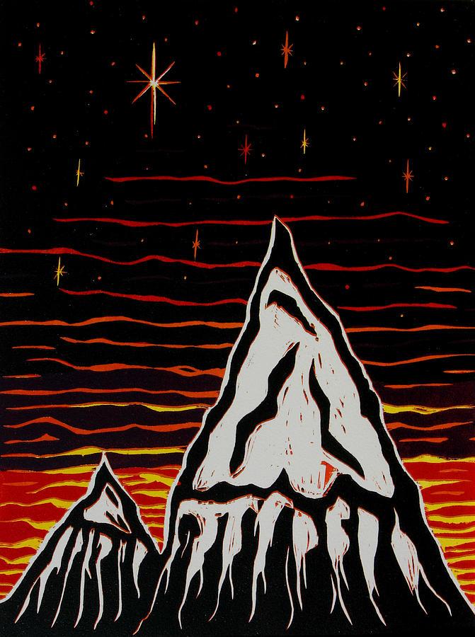 Original Relief - Mountains by Scott Shaver