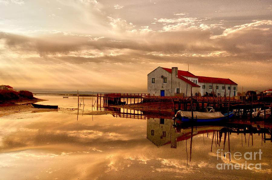 Atmosphere Photograph - Mourisca - Portugal by Armando Carlos Ferreira Palhau