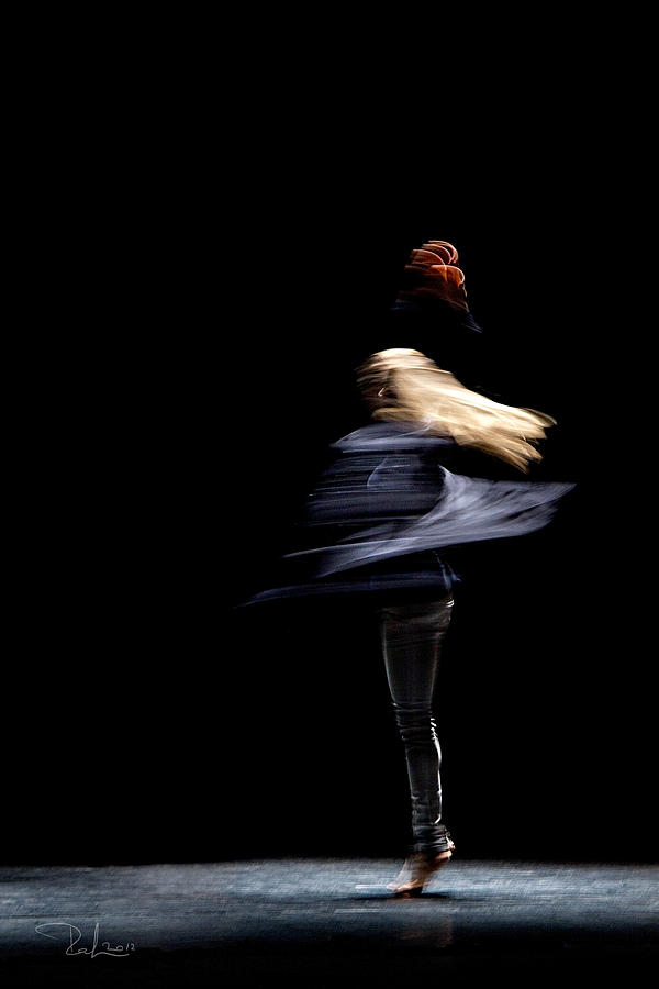 Dance Photograph - Moved Dance. by Raffaella Lunelli