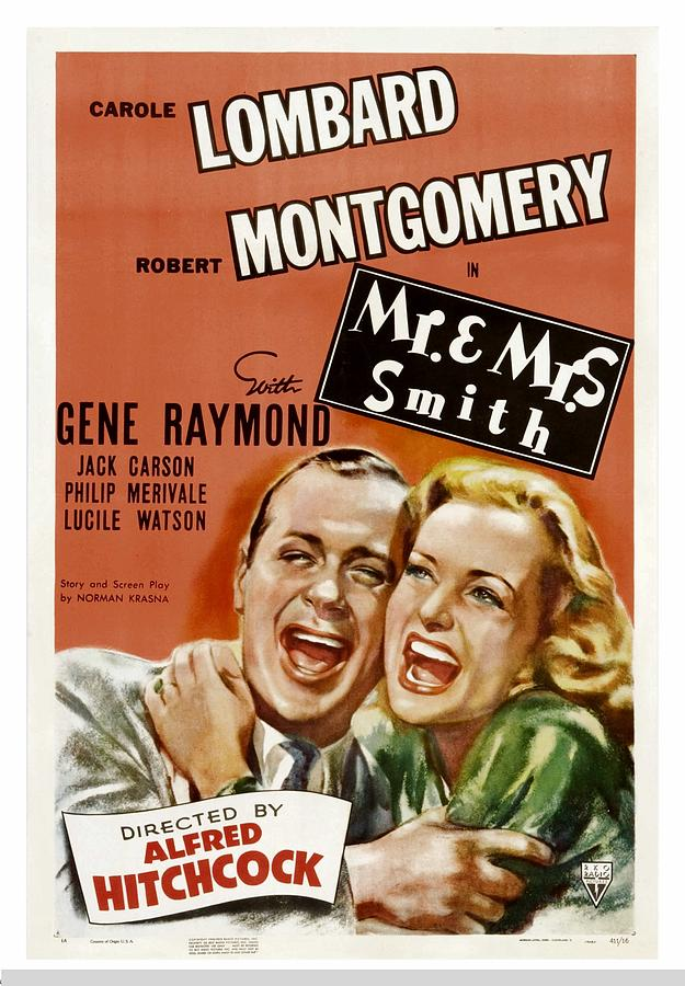 1940s Movies Photograph - Mr. And Mrs. Smith, Robert Montgomery by Everett