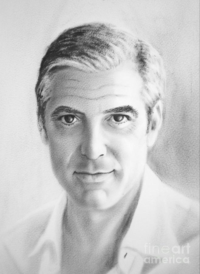 George Painting - Mr. C by Eleonora Perlic