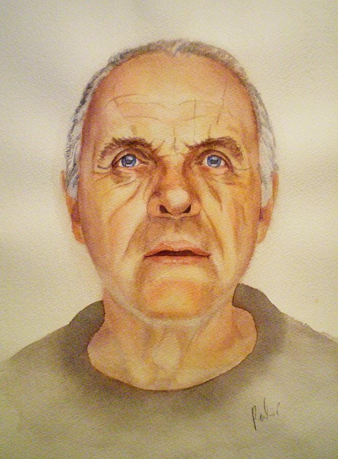 Portrait Painting - Mr. H by Eleonora Perlic