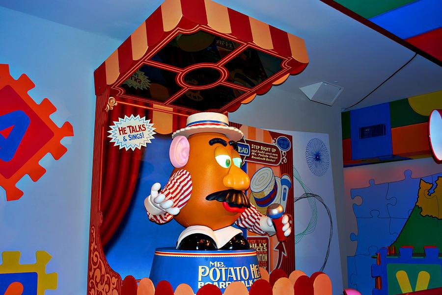 Poato Photograph - Mr. Potato Head by Malania Hammer