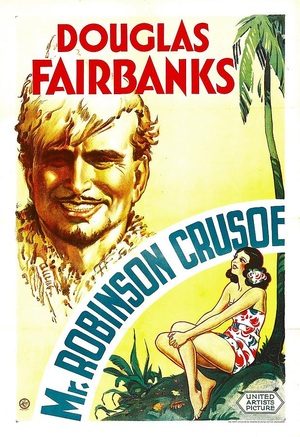 1930s Movies Photograph - Mr. Robinson Crusoe, Douglas Fairbanks by Everett