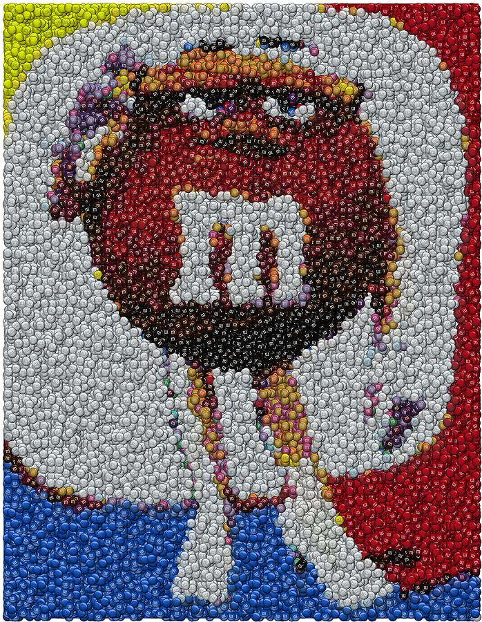 It's just a picture of Critical M&m Drawing