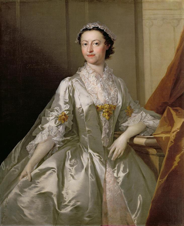 Mrs Painting - Mrs Wardle by Thomas Frye
