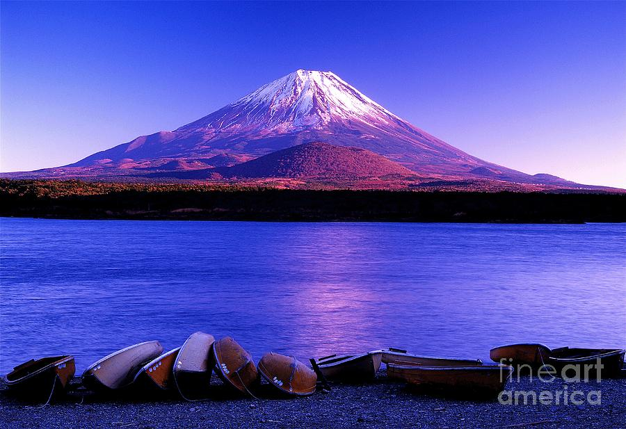 mt  fuji photograph by don ellis
