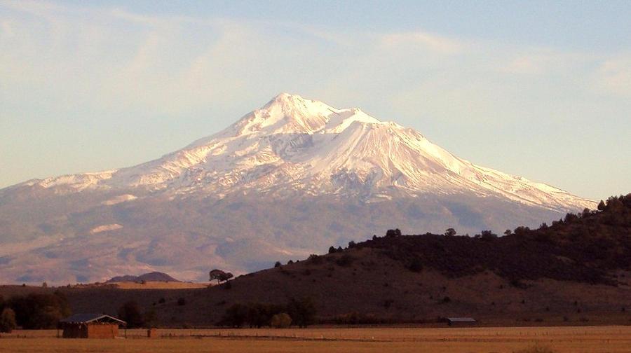 Nature Photograph - Mt. Shasta by Deborah Weber
