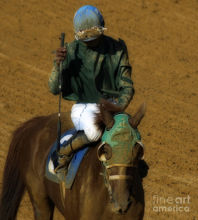 Horses Photograph - Mud Sweat And Tears  by Steven Digman