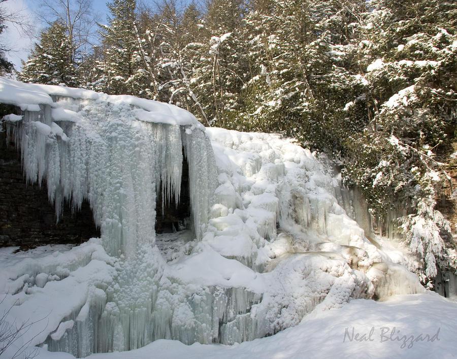 Landscape Photograph - Muddy Creek Falls by Neal Blizzard