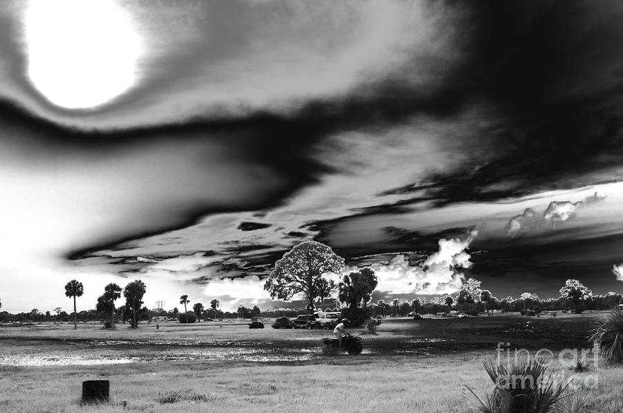 St Lucie Mudjam Photograph - Mudjam In Black And White  by Don Youngclaus