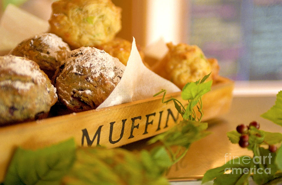 Baking Photograph - Muffins Fresh And Warm by Bruce Stanfield