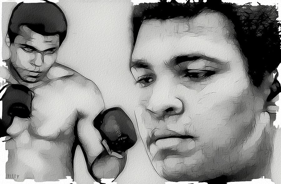 Muhammad Ali Digital Art - Muhammad Ali by Tilly Williams