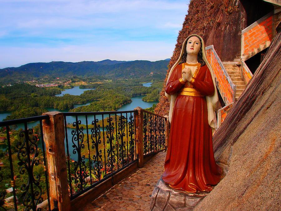 Mujer De La Piedra Photograph - Mujer De La Piedra by Skip Hunt
