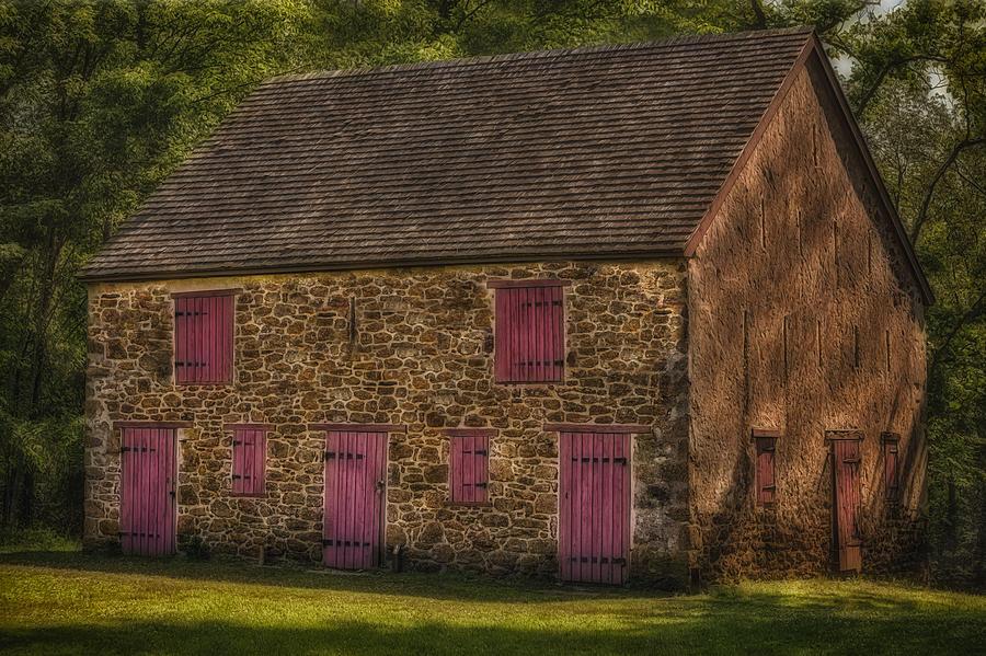 Barn Photograph - Mule Barn  by Susan Candelario
