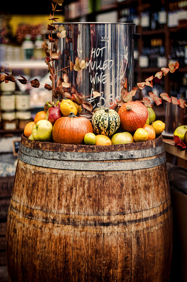 Mulled Wine Photograph - Mulled Wine by Heather Applegate