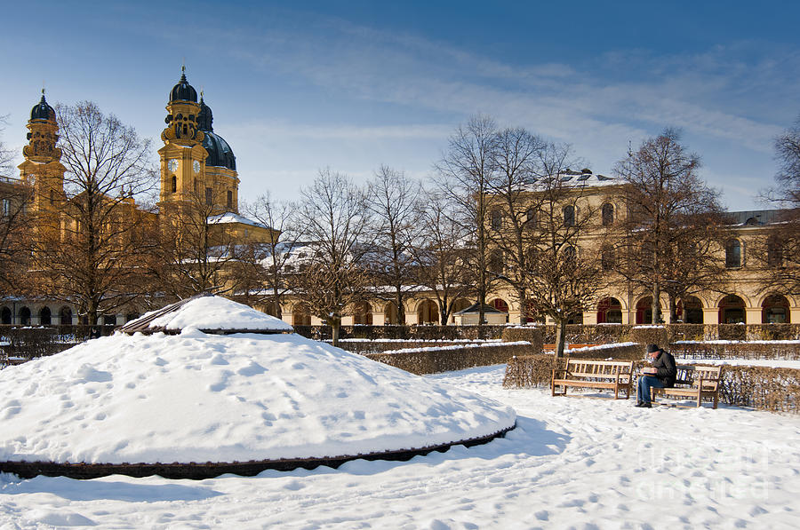 Munich Winter Photograph by Andrew Michael